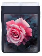 Blushing Rose Duvet Cover