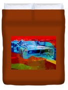 Bmw Laguna Seca Duvet Cover by Naxart Studio