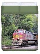 Bnsf Train Duvet Cover