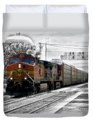 Bnsf Train Duvet Cover