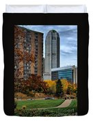 Bny Mellon From Duquesne University Campus Hdr Duvet Cover