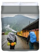 Boarding The Durango Silverton Narrow Duvet Cover