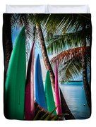 Boards Of Surf Duvet Cover