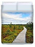 Orono Boardwalk Duvet Cover
