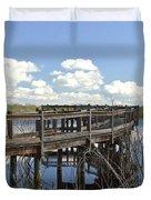 Boardwalk Reflections Duvet Cover