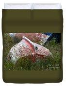Boat Graveyard Peurto Natales Chile 6 Duvet Cover