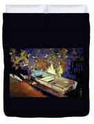 Boat Number 12 Duvet Cover