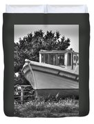 Boat Out Of The Water Duvet Cover