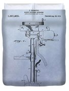 Boat Propeller Patent Drawing 1911 Duvet Cover