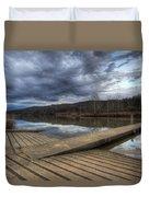 Boat Ramp Duvet Cover
