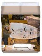 Boat Shed 6 Duvet Cover