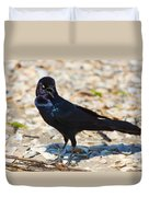 Boat-tailed Grackle Duvet Cover