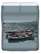 Boats At Rest Duvet Cover