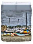 Sail Boats Duvet Cover