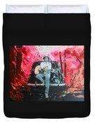Bob Dylan - Crossroads Duvet Cover