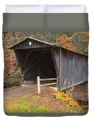 Bob White Covered Bridge Duvet Cover