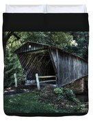 Bob White's Covered Bridge Duvet Cover