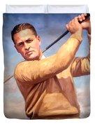 bobby Jones Duvet Cover by Tim Gilliland