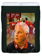 Bobby Knight Indiana Legend Duvet Cover