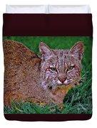 Bobcat Sedona Wilderness Duvet Cover