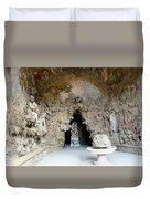 Boboli La Grotta Grande 3 Duvet Cover by Ellen Henneke