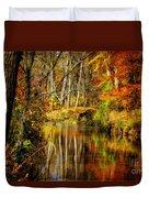 Bob's Creek Duvet Cover by Lois Bryan
