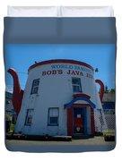 Bob's Java Jive Duvet Cover