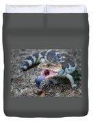 Bobtail Lizard Duvet Cover