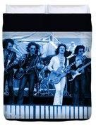 Boc #102 In Blue Duvet Cover
