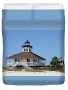 Boca Grande Light Duvet Cover