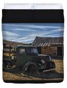 Bodie Abandoned Truck Duvet Cover