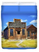 Bodie Barbershop And Store Duvet Cover