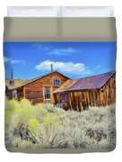 Bodie House And Sage Duvet Cover