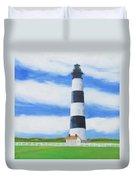 Bodie Island Lighthouse Duvet Cover