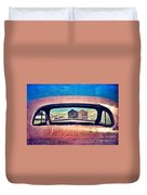 Bodie Through Car Window Duvet Cover