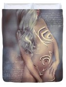 Body And Soul Duvet Cover