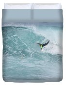 Body Surfer  Duvet Cover