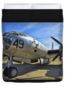 Boeing B-29a Superfortress Duvet Cover