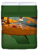 Boeing P26 Peashooter Wing Duvet Cover
