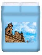 Bogota Cathedral Front Duvet Cover