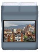 Bogota City View Duvet Cover