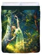 Bohemian Dancer Fantasy Duvet Cover