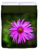 Bohemian Garden Pink Duvet Cover