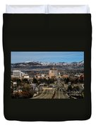 Boise Idaho Duvet Cover by Robert Bales