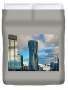 Bold Towers Duvet Cover