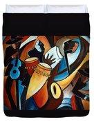 Bolero In Acrylic Duvet Cover