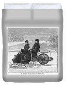 Bollee Carriage, 1898 Duvet Cover