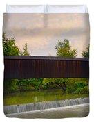 Bollinger Cover Bridge Duvet Cover