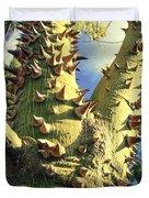 Bombacaceae - Floss Silk Tree - Chorisia Speciosa Hawaii Duvet Cover