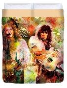 Bon Jovi Original  Duvet Cover